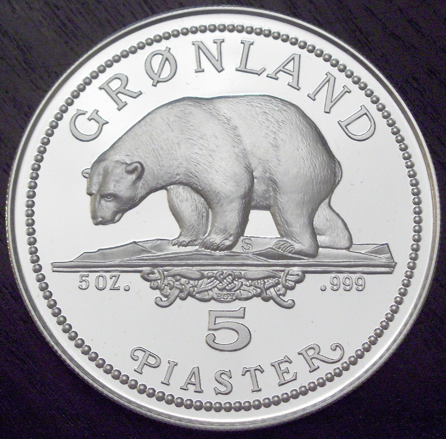 Greenland 1987 5 Piaster