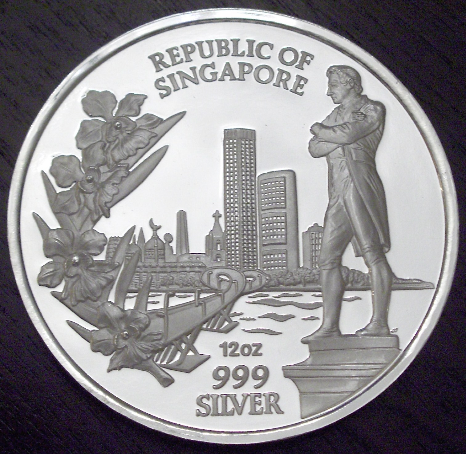 Singapore 1987 12 Ounces Convention front