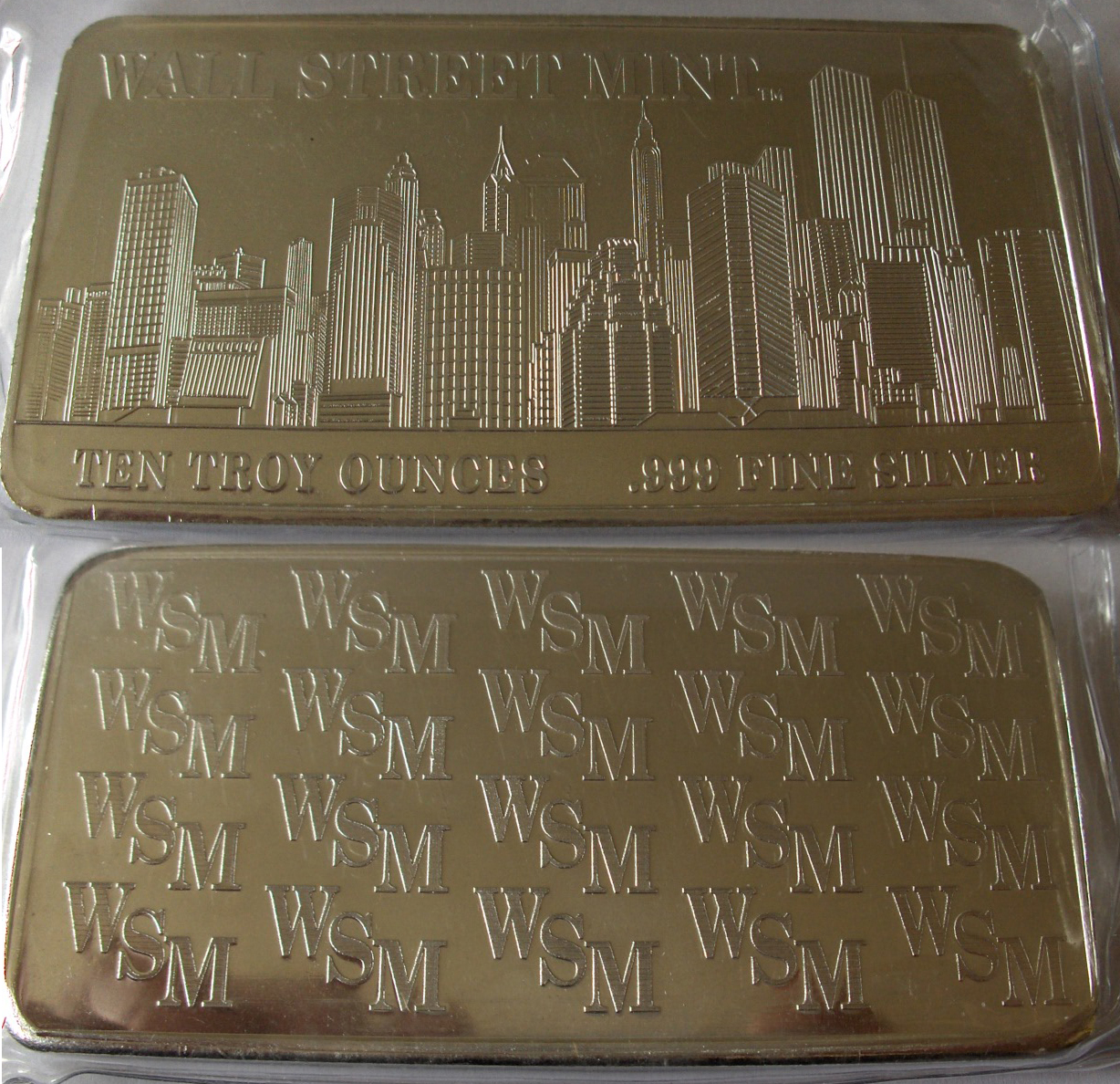 United States Wall Street Mint 10 Ounce
